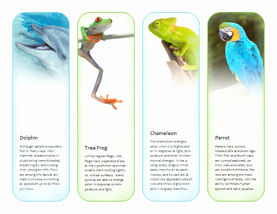 Bookmarks Templates Free Microsoft Word Fresh Bookmarks Tropical Animals Template Microsoft