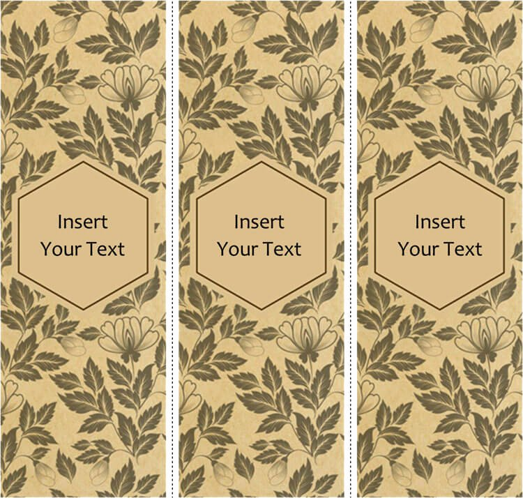 Bookmarks Templates Free Microsoft Word Luxury 28 Free Bookmark Templates Design Your Bookmarks In Style