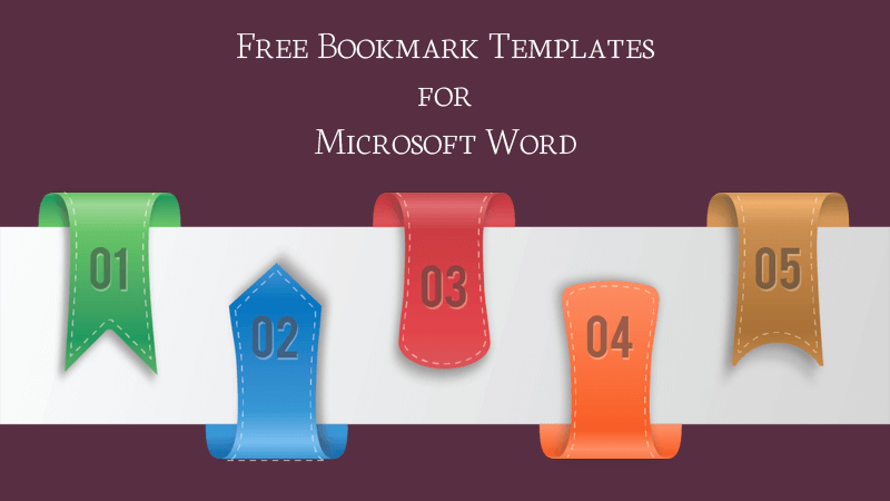 Bookmarks Templates Free Microsoft Word Luxury Bookmark Templates Free Printable for Microsoft Word
