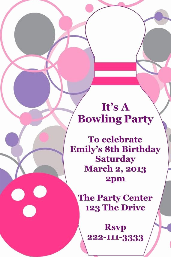 Bowling Invitation Template Free Awesome 33 Best Images About Certificate Ideas On Pinterest