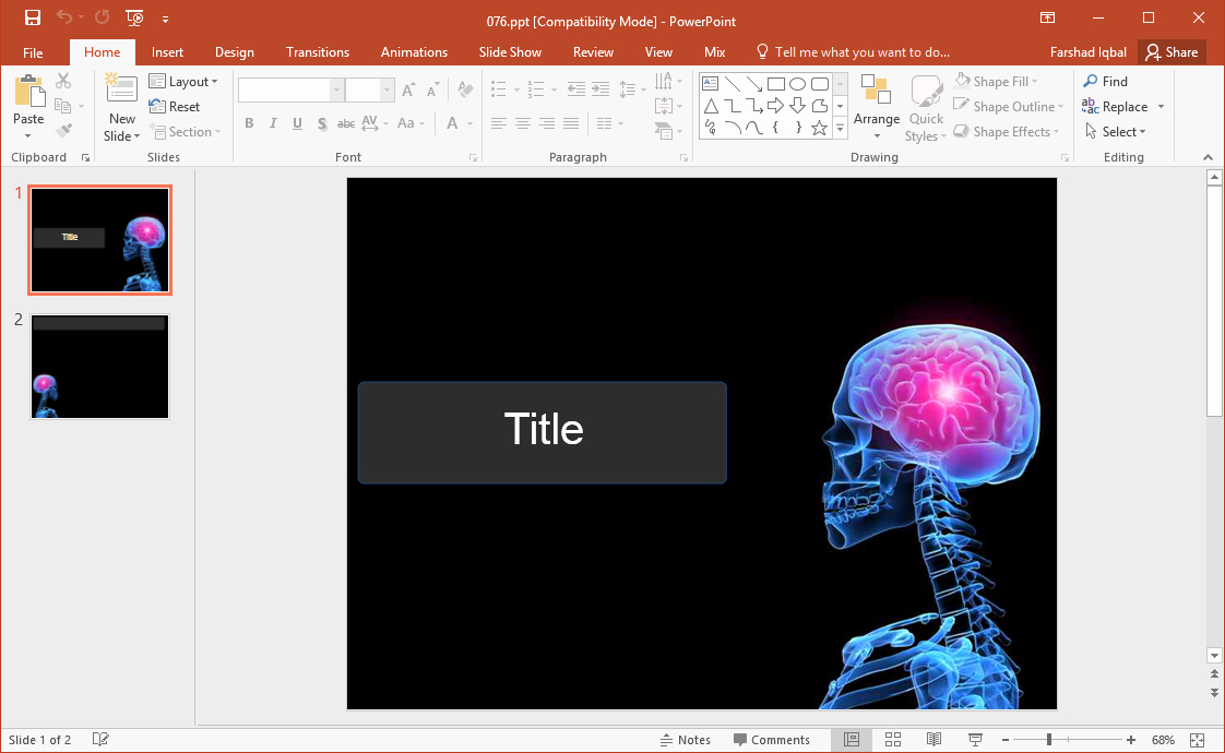 Brain Power Point Templates Awesome Best Brain Clipart & Graphics for Powerpoint