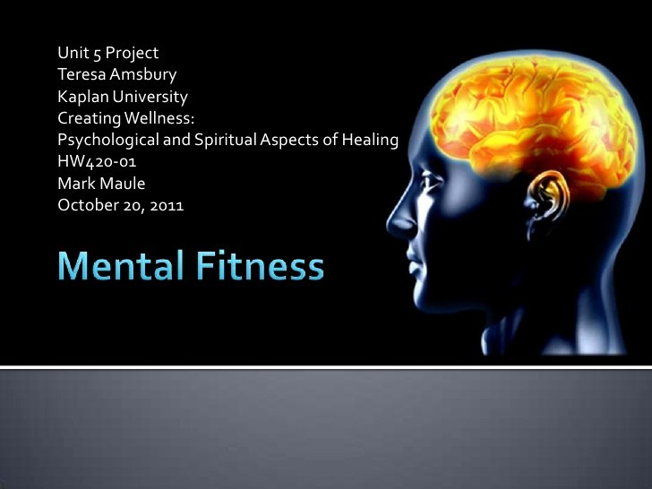 Brain Power Point Templates Beautiful Mental Fitness Pp Presentation