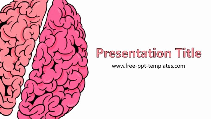 Brain Power Point Templates Best Of Brain Powerpoint Template