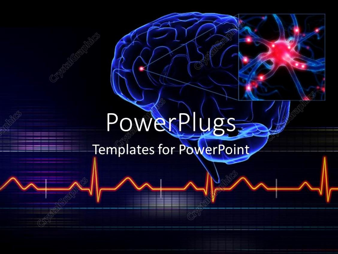 Brain Power Point Templates Elegant Powerpoint Template Human Brain with A Highlighted Small