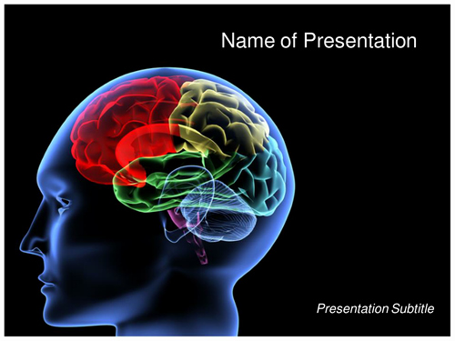 Brain Power Point Templates Fresh Brain Ppt Template by Templatesvision Teaching Resources