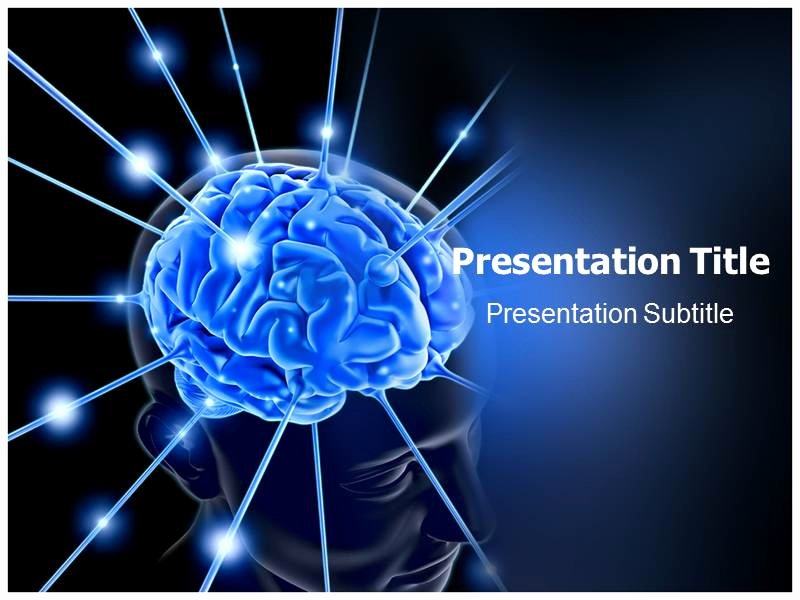 Brain Power Point Templates Luxury Brain Powerpoint Template Background Of Human Scanning