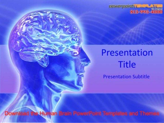 Brain Power Point Templates Luxury Download the Human Brain Powerpoint Templates and themes