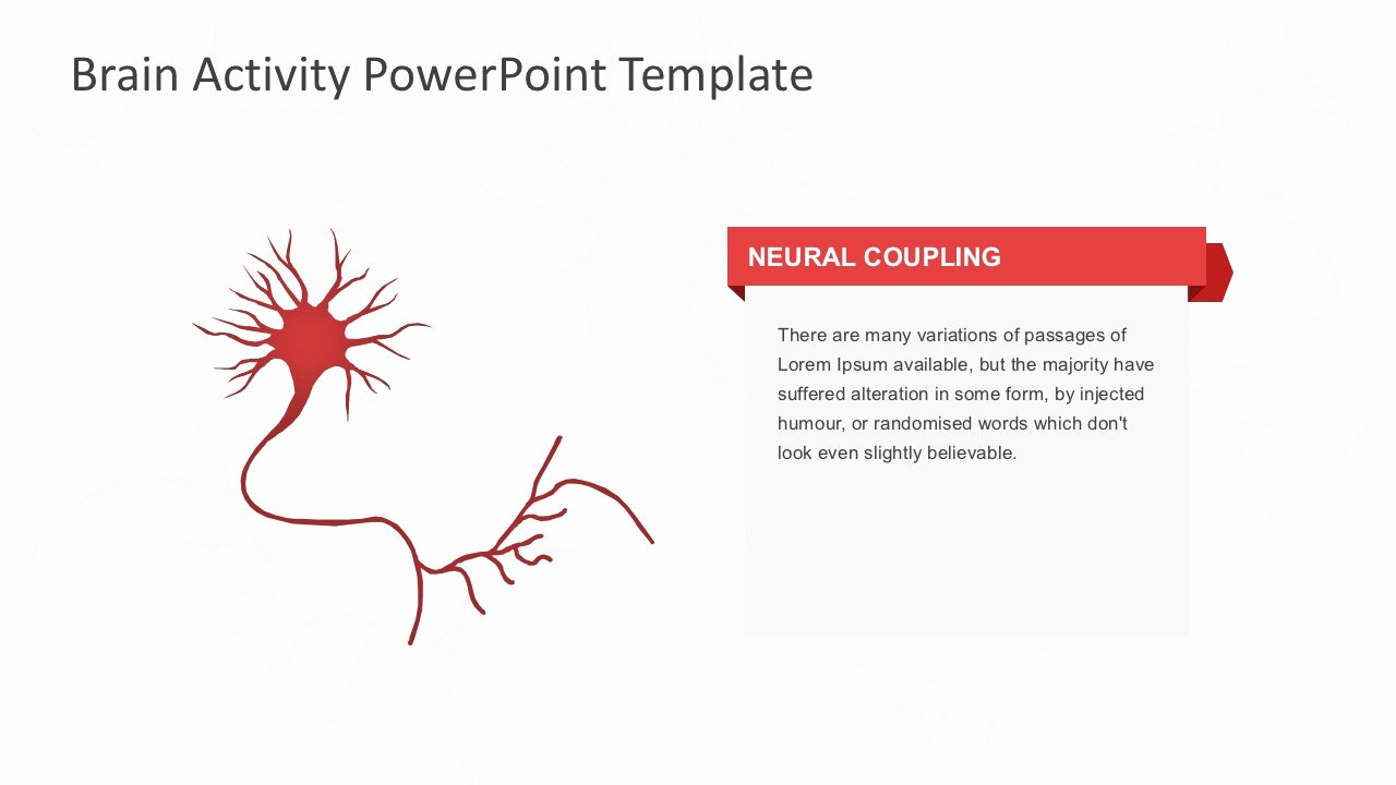 Brain Power Point Templates New Brain Activity Powerpoint Template