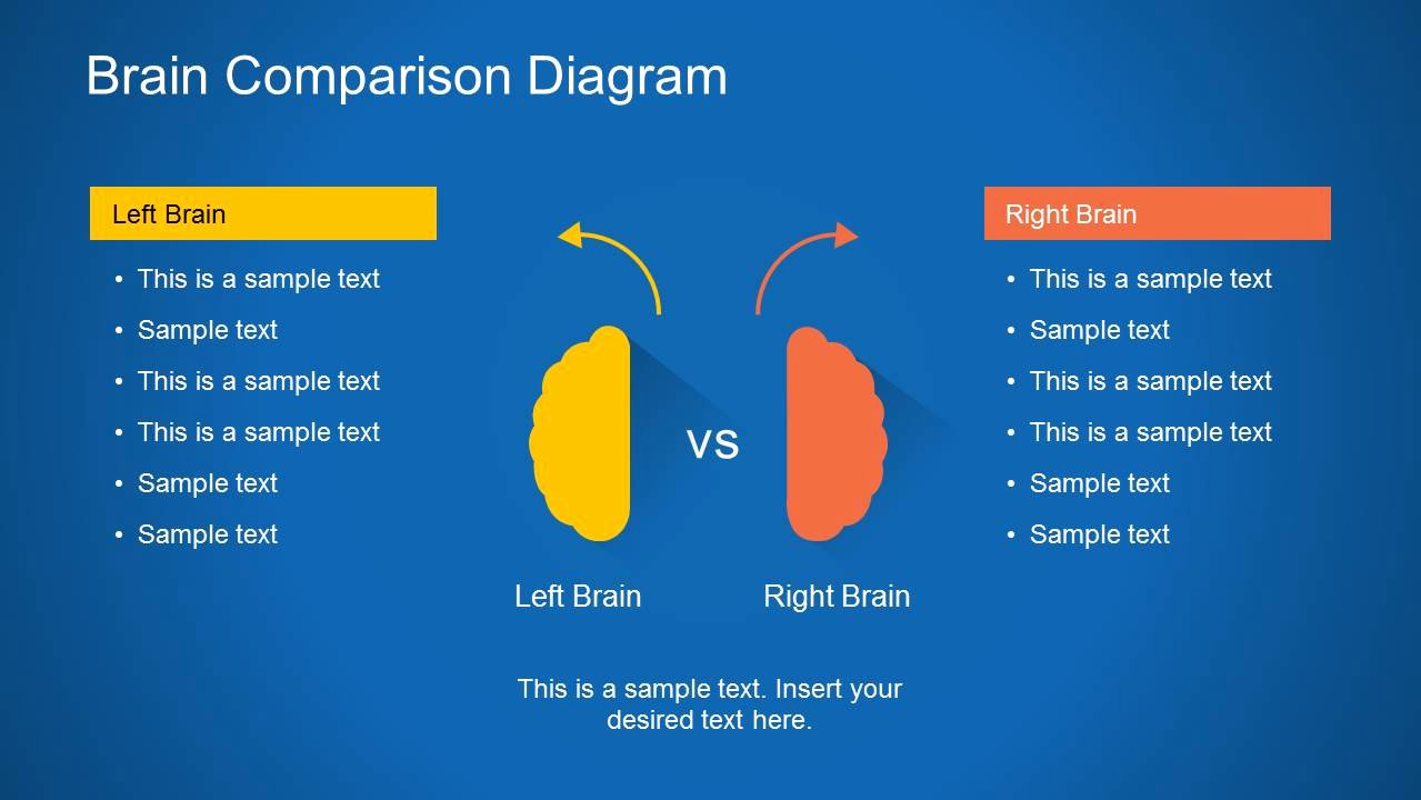 Brain Power Point Templates New Brain Diagram Powerpoint Template Slidemodel