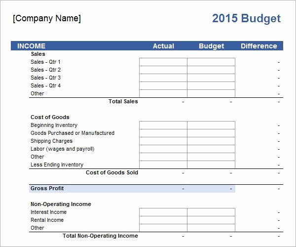 Business Budget Template Excel Awesome Business Bud Template 13 Download Free Documents In