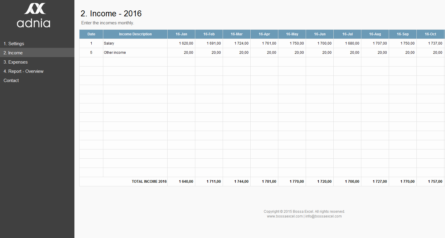Business Budget Template Excel Fresh Simple Personal Bud Excel Template