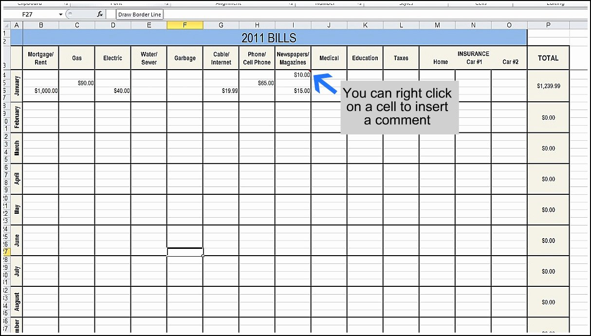 Business Budget Template Excel Unique Business Bud Excel Template Monthly Spreadsheet