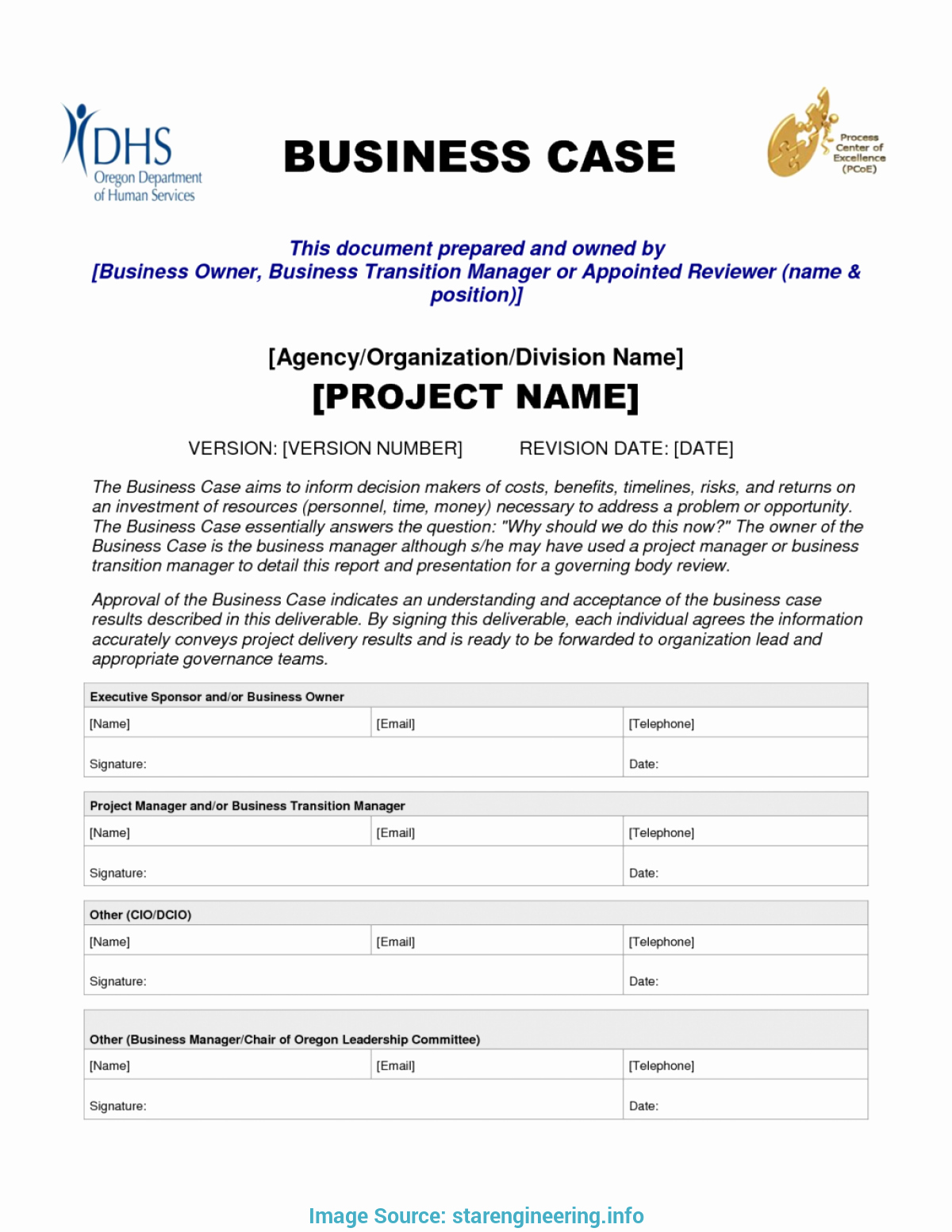 Business Case Template Word Inspirational Simple Business Case Examples