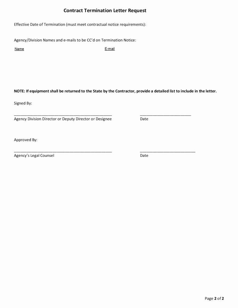 Business Contract Termination Letter Template Awesome 10 Business Termination Letters Free Word Pdf Excel