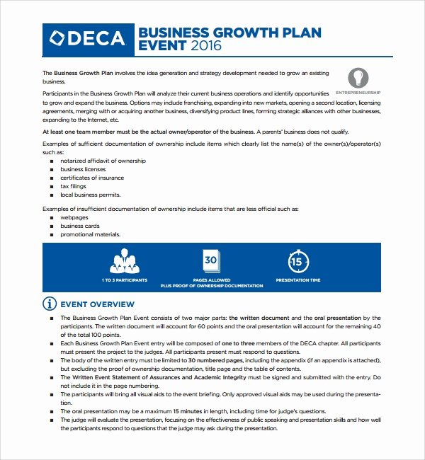 Business Growth Plan Template Awesome Sample Growth Plan Template 10 Free Documents In Pdf Word