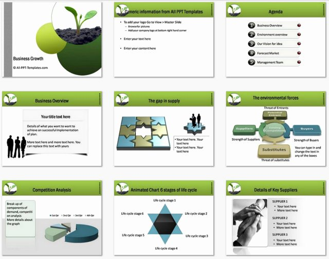 Business Growth Plan Template Fresh Powerpoint Business Plan Growth Template