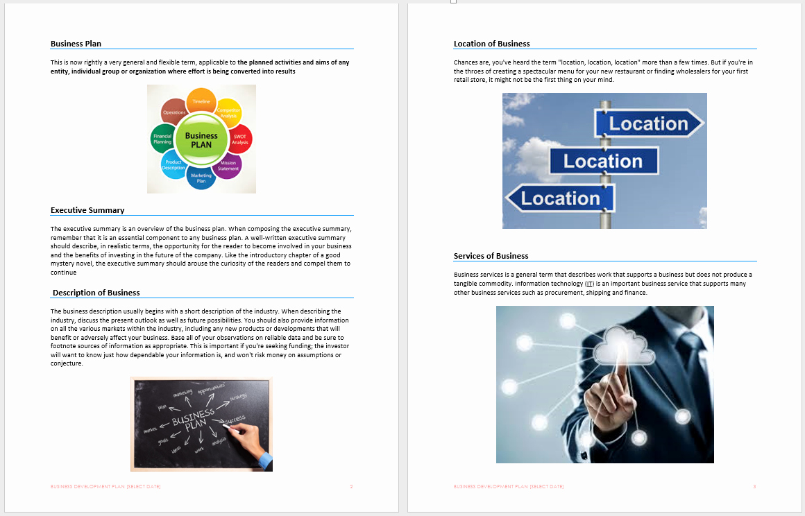 Business Growth Plan Template Lovely Business Development Plan Template Microsoft Word Templates