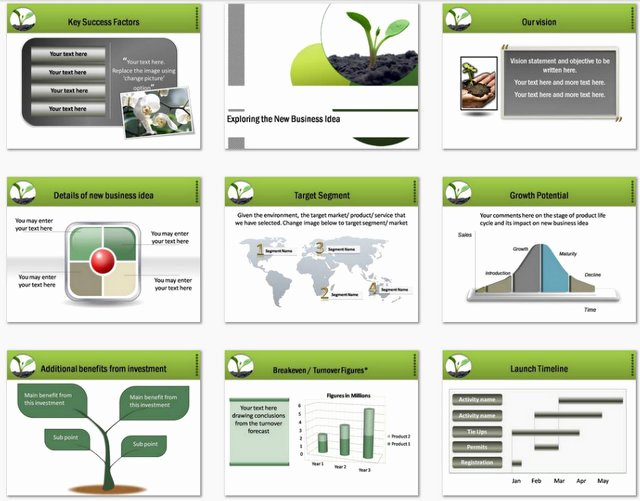 Business Growth Plan Template Lovely Powerpoint Business Plan Growth Template