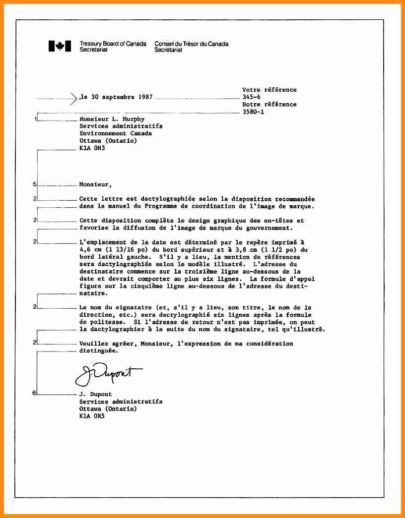 Business Letter format Template Lovely Business Letter format