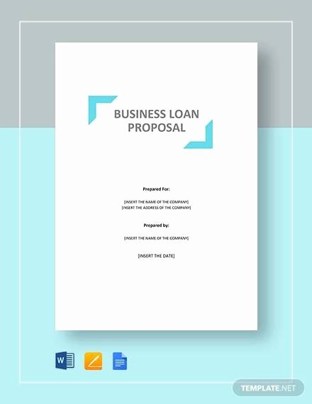 Business Loan Proposal Template Awesome Sample Loan Proposal 11 Documents In Pdf Word