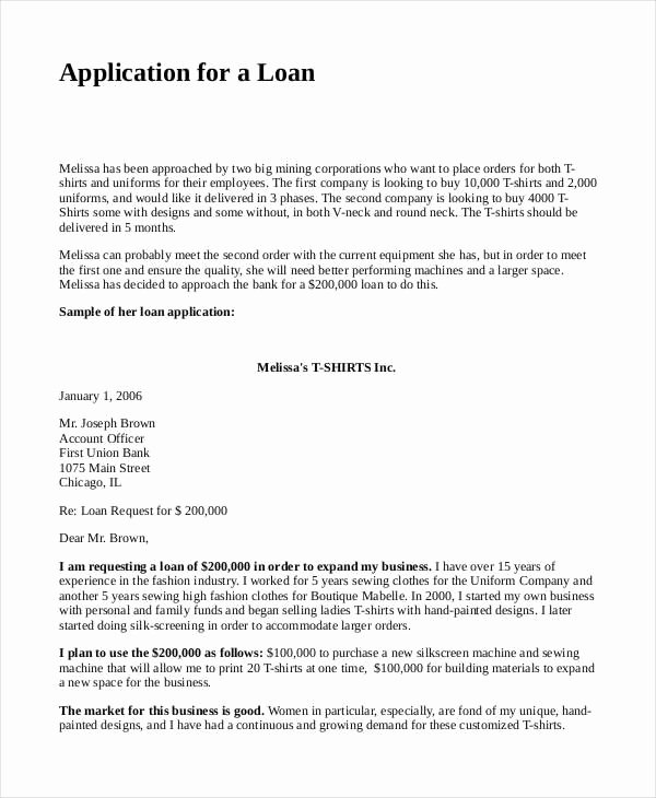 Business Loan Proposal Template Fresh Business Proposal for Bank Loan Template 4 Loan Proposal