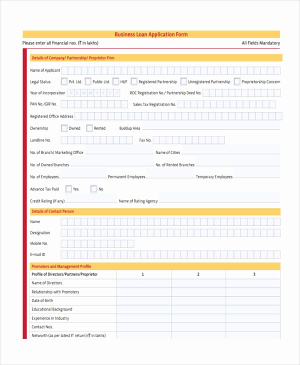 Business Loan Proposal Template New 11 Loan Proposal form Samples Free Sample Example