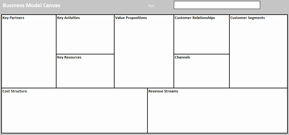 Business Model Template Word Beautiful Business Model Templates for Word Excel and Pdf