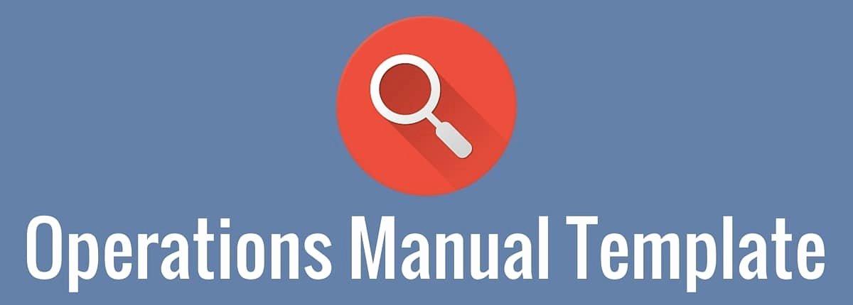 Business Operations Manual Template Elegant Operations Manual Template 3bug Media
