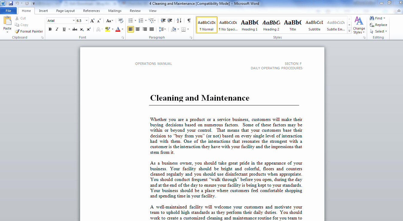 Business Operations Manual Template Lovely Operations Manual Template – 3bug Media