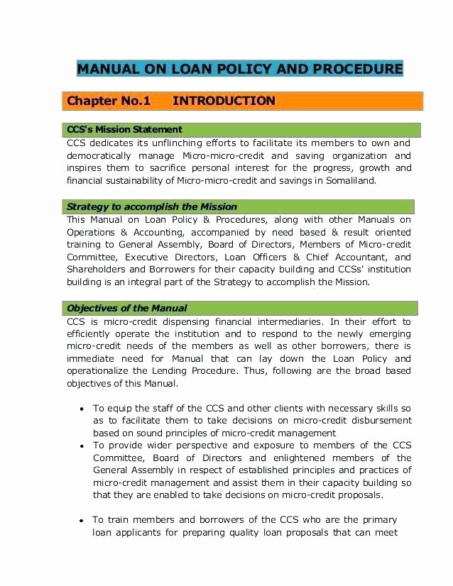 Business Operations Manual Template Lovely Small Business Policy and Procedures Manual Template