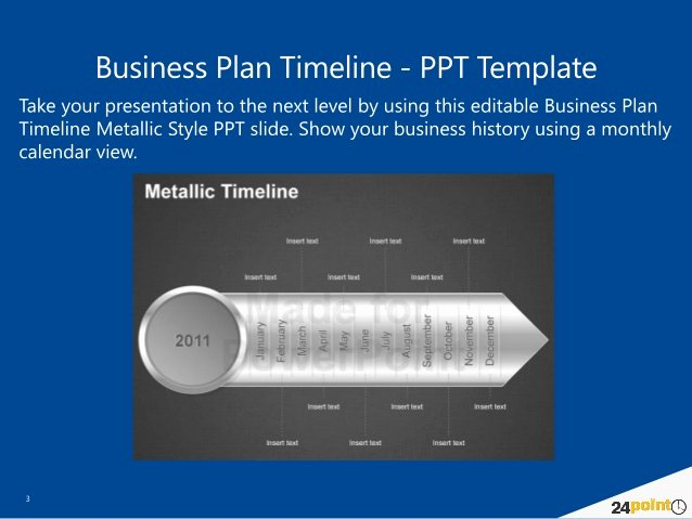 Business Plan Timeline Template Fresh Business Plan Timeline Powerpoint Template