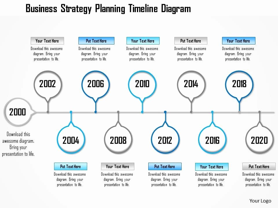 Business Plan Timeline Template Inspirational 1214 Business Strategy Planning Timeline Diagram