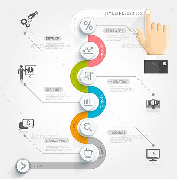 Business Plan Timeline Template New 10 Business Timeline Templates Psd Eps Ai