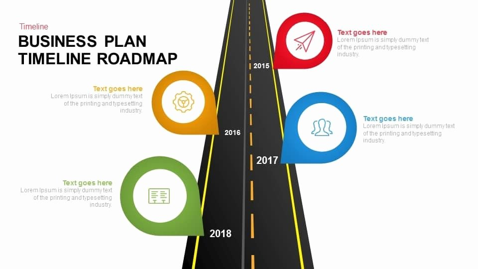 Business Plan Timeline Template Unique Business Plan Timeline Roadmap