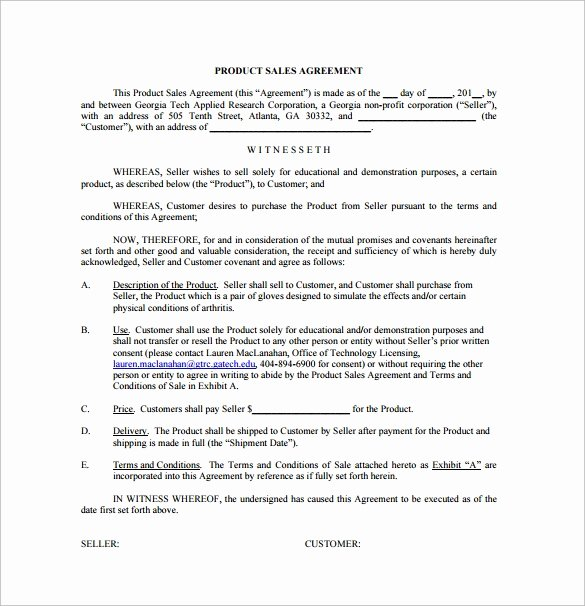 Business Purchase Agreement Word Template Awesome Sales Agreement 10 Download Free Documents In Word Pdf
