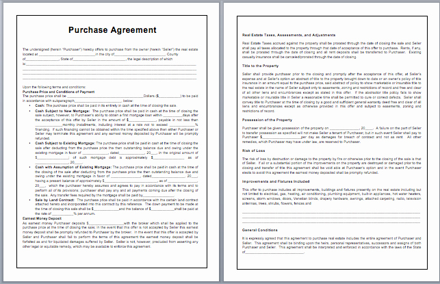Business Purchase Agreement Word Template Luxury Purchase Contract Template Microsoft Word Templates
