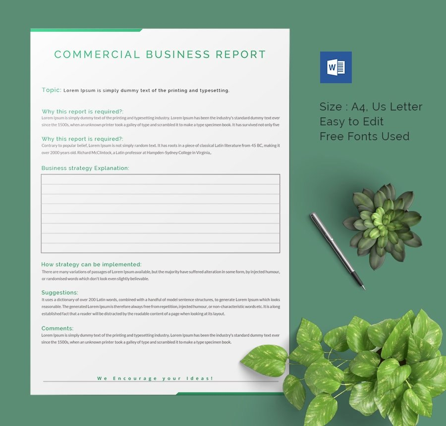 Business Report format Template Awesome 40 Business Report Templates Google Docs Apple Pages