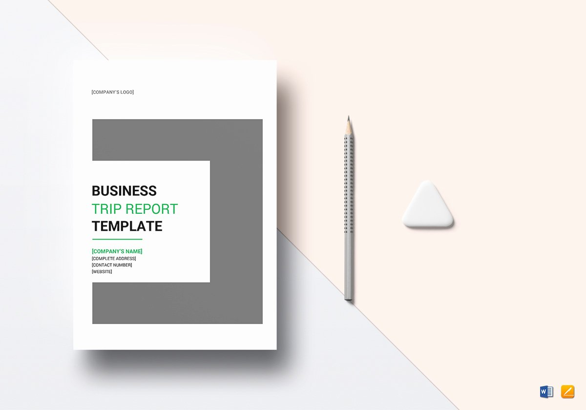 Business Report Template Word Best Of Business Trip Report Template In Word Google Docs Apple