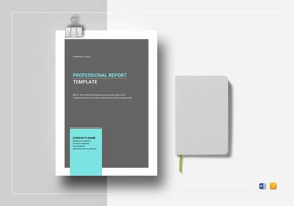 Business Report Template Word Unique Sample Professional Report Template 22 Free Documents