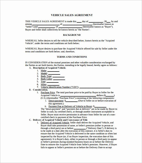 Business Sale Agreement Template Luxury Business Sale Agreement Pdf