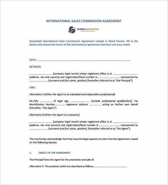 Business Sale Agreement Template New Sales Agreement 10 Download Free Documents In Word Pdf