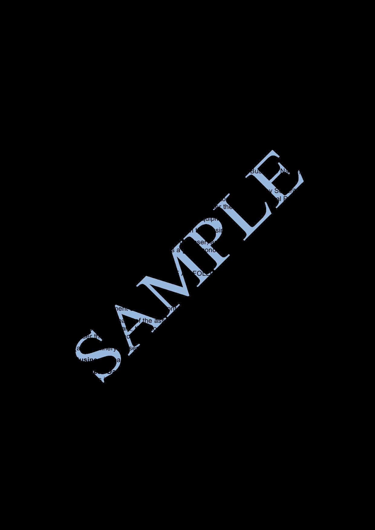 Business Sale Agreement Template Unique Business Sale Agreement Sample Lawpath