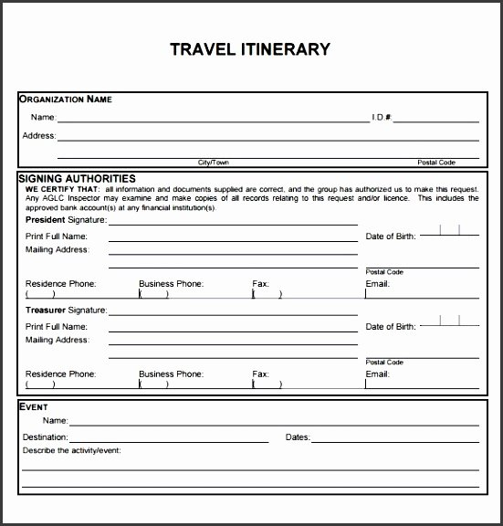 Business Travel Itinerary Template Beautiful 6 Business Travel Plan Template Sampletemplatess