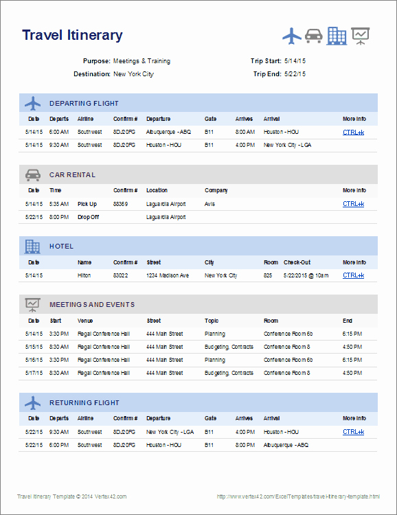 Business Travel Itinerary Template Unique Travel Itinerary Template