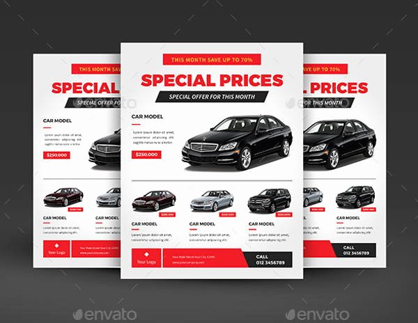 Car for Sale Flyer Template Awesome 9 Sales Flyers Printable Psd Ai Vector Eps format
