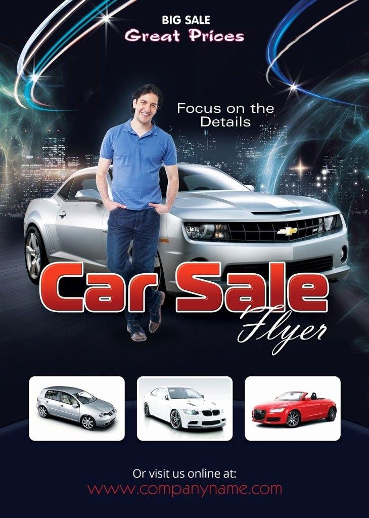 Car for Sale Flyer Template Elegant Car Sale Flyer Design Free Flyer Designs
