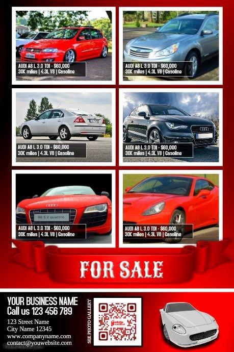 Car for Sale Flyer Template Inspirational 41 Best Car Dealer Flyer Diy Images On Pinterest
