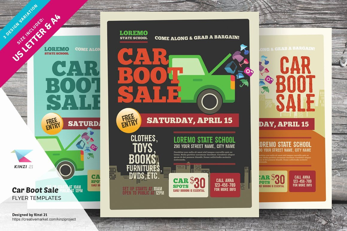 Car for Sale Flyer Template Luxury Car Boot Sale Flyer Templates Flyer Templates Creative