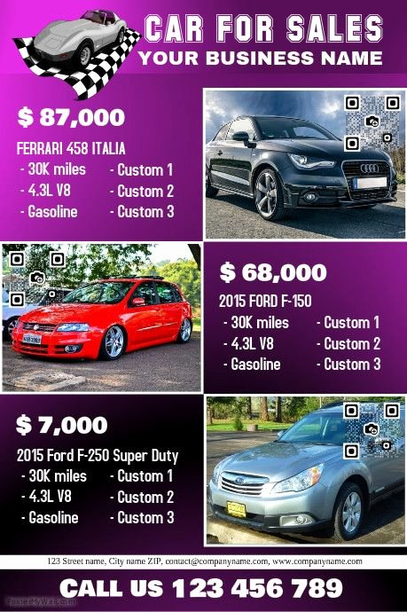 Car for Sale Flyer Template Unique 41 Best Images About Car Dealer Flyer Diy On Pinterest