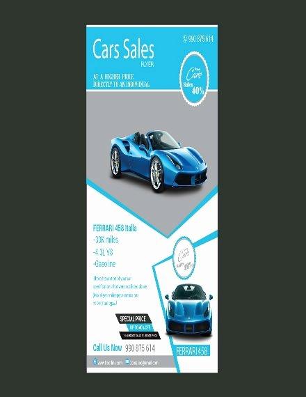 Car for Sale Flyer Template Unique 8 Automotive Car Sales Flyer Templates